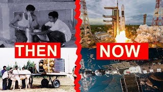 ISRO - बैलगाड़ी से राकेट ले जाते थे ? | THEN \u0026 NOW  Full Story of Indian Space Research