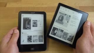 Kindle Oasis & Tolino Vision 3 HD im Vergleich