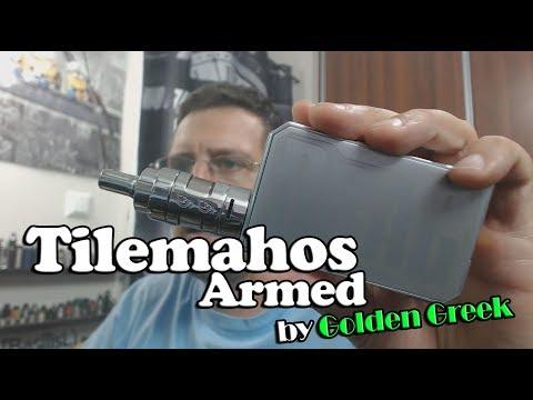 """Tilemahos Armed by Golden Greek """"GG"""" + Build - BasilisL (Greek Reviews)"""