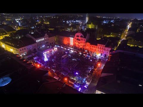 Święta na Starówce 2016 Bielsko-Biała, Nad dachami