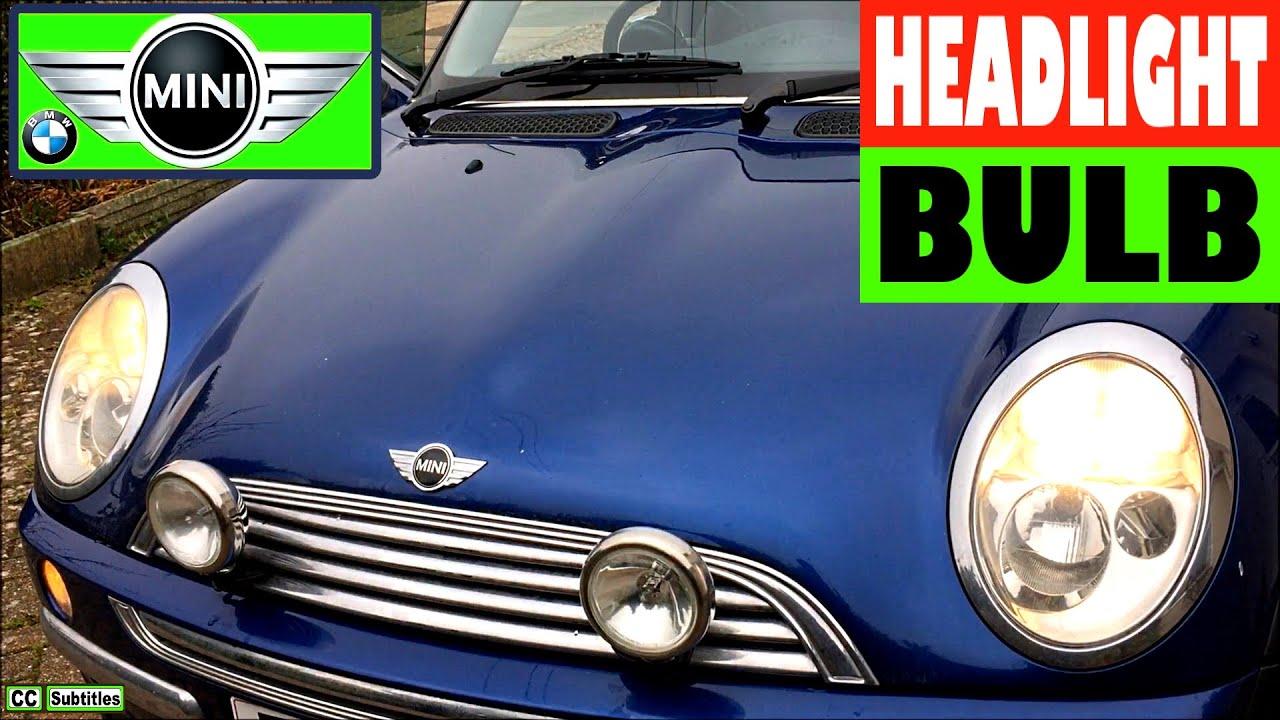 How To Change Headlight Bulb On Mini R50 R53 2000