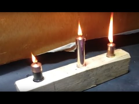 Copper Oil Candle - Easy Projects#1