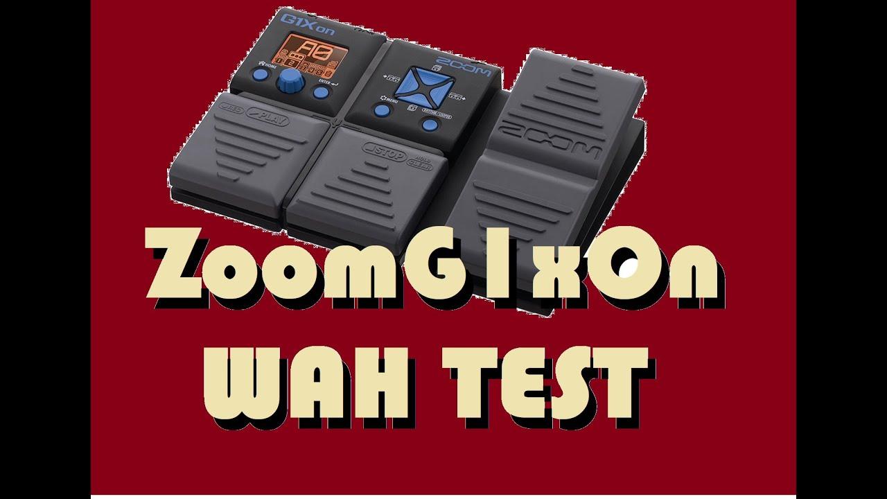 how to use zoom g1xon