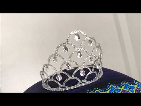 How to make MISS ANGOLA crown (diy)