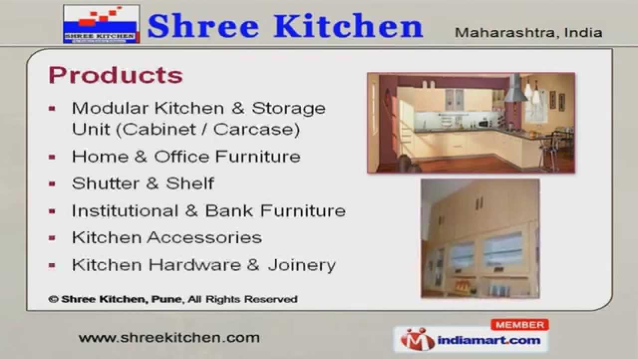 Shutter & Shelf by Shree Kitchen, Pune - YouTube