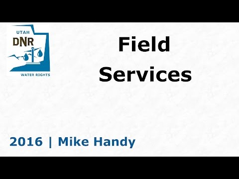2016.12   Field Services - Water Rights Adjudications