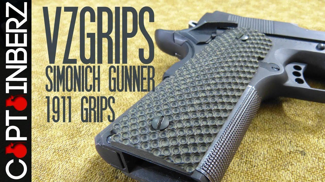 1911 VZGrips Simonich Gunner Grips