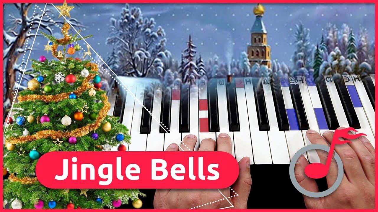 Keyboard Weihnachtslieder Anfänger.Klavier Lernen Jingle Bells Weihnachtslied