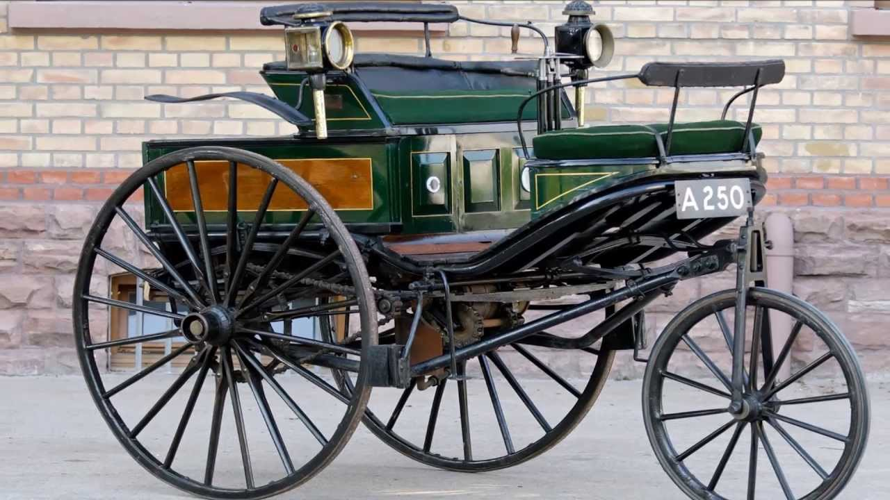 1888 Benz Patent-Motorwagen 1.66 2,5 hp 10 mph First Long Distance ...