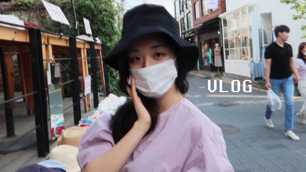 My first vlog in Korea  أول فلوق لي في كوريا