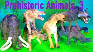 NEW Learn about PREHISTORIC ANIMALS - Toy Collection - Educational - Fun video for kids
