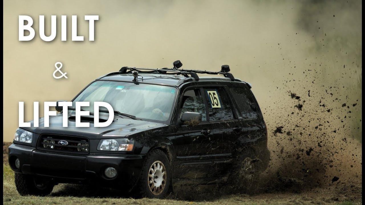 Cabin Up North | Built and Lifted 2004 Subaru Forester XT | Mavic Air Crash  | PURE SOUND