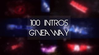 100 Intros à Gagner ! [ The Best giveaway ever ! Close ! ]