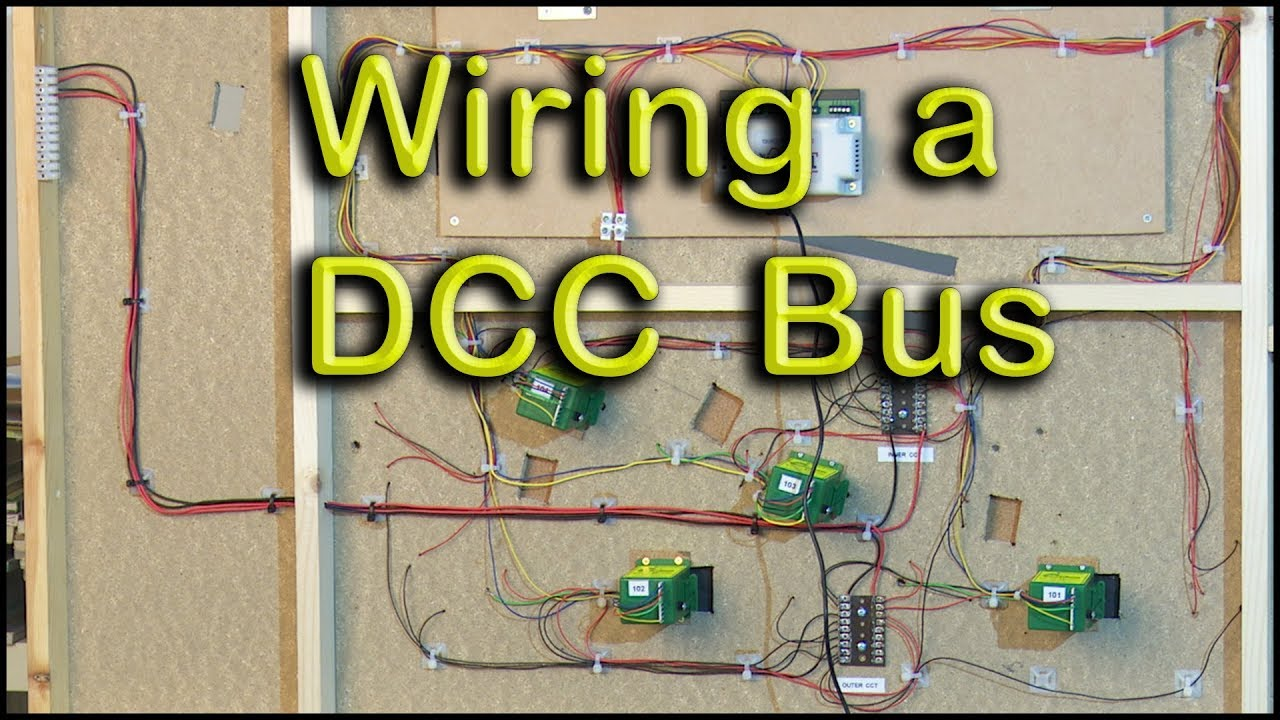 hight resolution of model railway dcc bus wiring youtube dcc track wiring bus