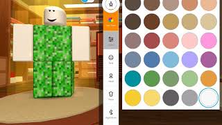 How to become a CREEPER in ROBLOX... yes you saw that ok