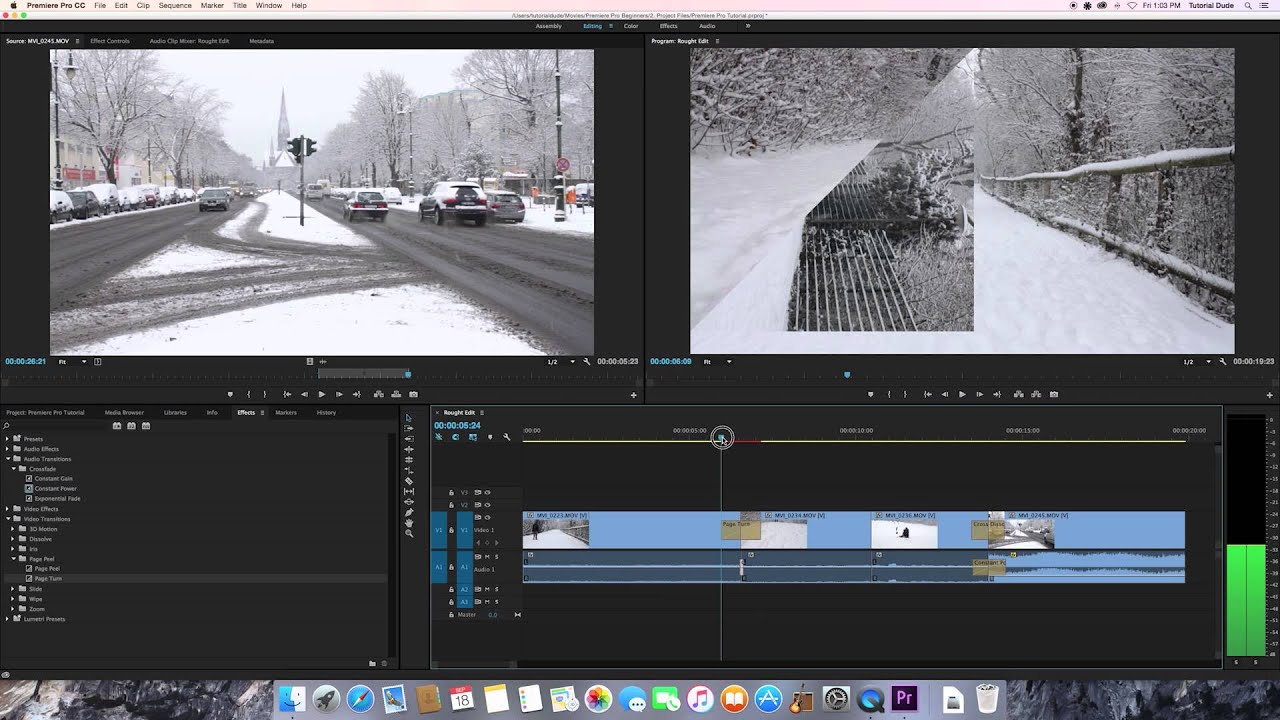 FULL TUTORIAL – Adobe Premiere Pro CC for BEGINNERS – LATEST VERSION (2015) (HD)