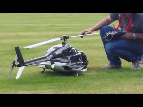 Very Cool RC Helicopter Turbine Powered - AIRWOLF!