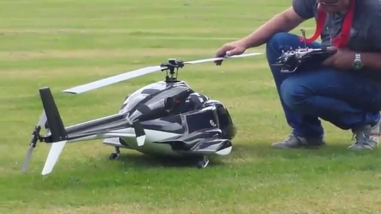 Very Cool RC Helicopter Turbine Powered