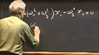 Lec 05: Coupled Oscillators | 8.03 Vibrations and Waves, Fall 2004 (Walter Lewin)