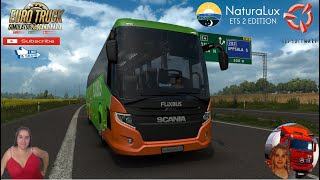 Euro Truck Simulator 2 (1.38 Open Beta)   Scania Touring Bus[1.38] by husni_1210 Travel in Sweden Uppsala to Stockholm DLC Scandinavia by SCS Software Animated gates in companies v3.7 [Schumi] Real Company Logo v1.0 [Schumi] Company addon v1.8 [Schumi] Motorcycle Traffic Pack by Jazzycat FMOD ON and Open Windows Naturalux Graphics and Weather est Gameplay ITA Europe Reskin v1.0 + DLC's & Mods Added new Door Animation & Window Animation [Only Eu Cabin] Added new sound (FMOD Support) Rebuild new base from 1.36 Removing Running text crash issue Standalone Sold at Scania 2 cabins 2 chassis Own interior Own sound DLC Cabin Accessories Support Interior lighting for passe http://www.modhub.us/euro-truck-simulator-2-mods/6483-scania-touring-1-38/  SCS Software News Iberian Peninsula Spain and Portugal Map DLC Planner...2020 https://www.youtube.com/watch?v=NtKeP0c8W5s Euro Truck Simulator 2 Iveco S-Way 2020 https://www.youtube.com/watch?v=980Xdbz-cms&t=56s Euro Truck Simulator 2 MAN TGX 2020 v0.5 by HBB Store https://www.youtube.com/watch?v=HTd79w_JN4E  #TruckAtHome #covid19italia Euro Truck Simulator 2    Road to the Black Sea (DLC)    Beyond the Baltic Sea (DLC)   Vive la France (DLC)    Scandinavia (DLC)    Bella Italia (DLC)   Special Transport (DLC)   Cargo Bundle (DLC)   Vive la France (DLC)    Bella Italia (DLC)    Baltic Sea (DLC) Iberia (DLC)   American Truck Simulator New Mexico (DLC) Oregon (DLC) Washington (DLC) Utah (DLC) Idaho (DLC) Colorado (DLC)     I love you my friends Sexy truck driver test and gameplay ITA  Support me please thanks Support me economically at the mail vanelli.isabella@gmail.com  Roadhunter Trailers Heavy Cargo  http://roadhunter-z3d.de.tl/ SCS Software Merchandise E-Shop https://eshop.scssoft.com/  Euro Truck Simulator 2 http://store.steampowered.com/app/227... SCS software blog  http://blog.scssoft.com/  Specifiche hardware del mio PC: Intel I5 6600k 3,5ghz Dissipatore Cooler Master RR-TX3E  32GB DDR4 Memoria Kingston hyperX Fury MSI GeFo