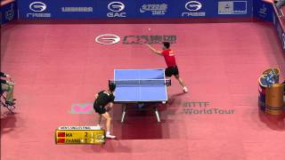 2015 German Open MS-F Ma Long - Zhang Jike (full match|short form in HD)