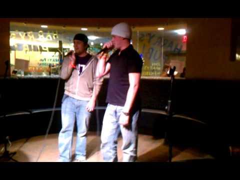 A.J. and Murph dominating the Karaoke