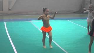 Выступление - художественная гимнастика,без предмета