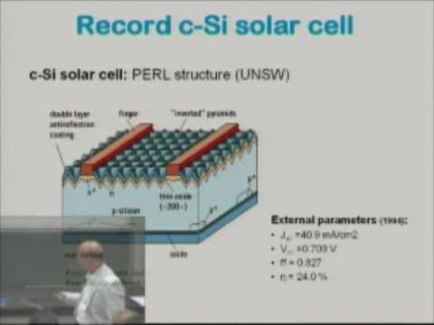 Electro Techniek ET4149 - Solar Cells Solar radiation Part 1