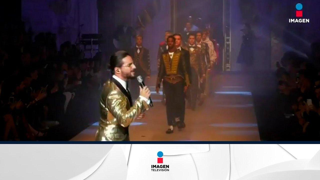 6e050b225e Maluma debuta como modelo | Noticias con Francisco Zea - YouTube