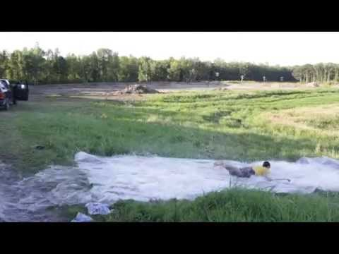 ALS Ice Bucket Slip n Slide