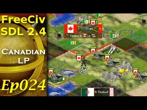FreeCiv 2.4.0 [SDL Client] Canadian LP - Ep024