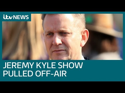 The Jeremy Kyle Show Suspended Indefinitely After Death Of Guest | ITV News