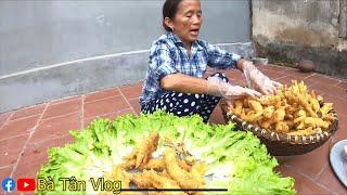 Bà Tân Vlog - Làm 300 Cái Chân Gà KFC Siêu To Khổng Lồ