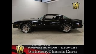 1977 Pontiac Firebird Trans Am Stock #739 located in out Louisville Showroom