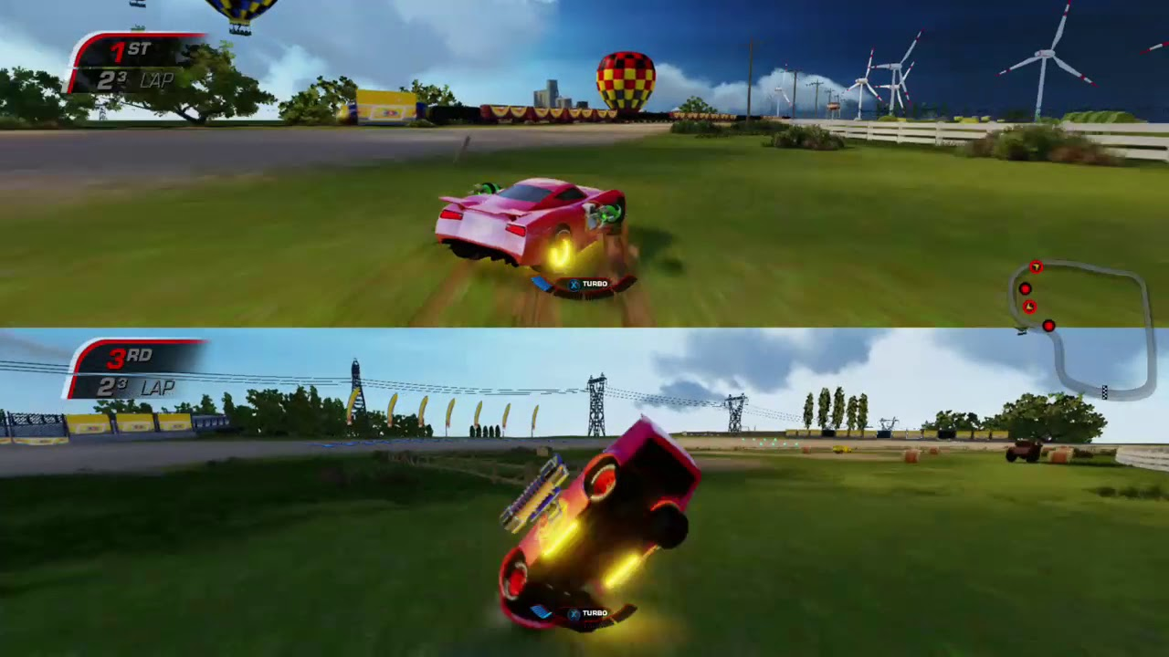 Cars 3 Driven to win Xbox one X Gameplay 🏎️ Lightning ...