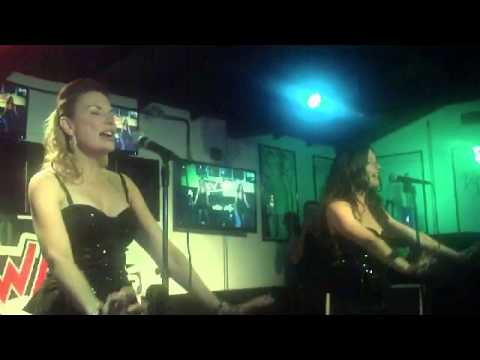 DANGER  Christina Criscione from THE FLIRTS & Danielle McKee