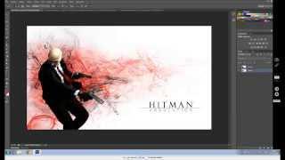 Photoshop speedart-Hitman absolution HD