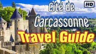 Europe's Most Impressive Medieval City?  Carcassonne Walking tour / Travel Guide by an Englishman.