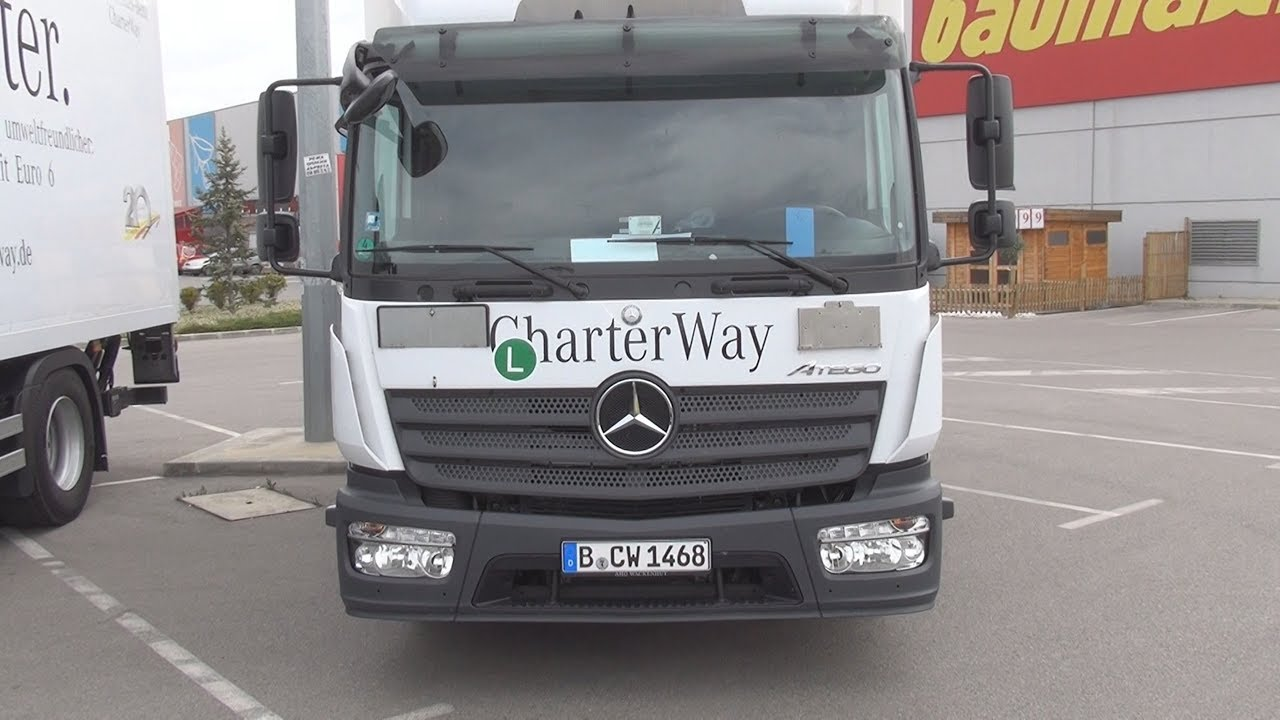 Mercedes-Benz Atego 818L 4x2 CharterWay Exterior and Interior