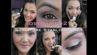 ROSEMARIE627 SIGNATURE STARLOOKS SET NOW AVAILABLE & How To Apply My Favorite Eye Products Thumbnail