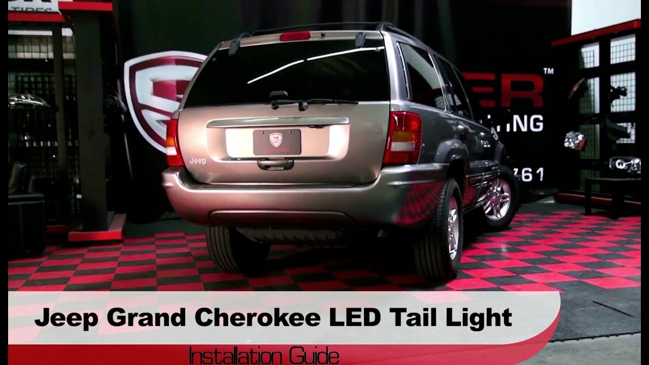 Exceptional Spyder Auto Installation: 1999 2004 Jeep Grand Cherokee LED Tail Lights    YouTube