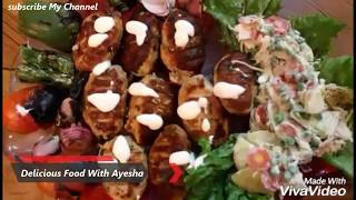 Turkish Chicken Kebabs Recipe In Urdu Delicious Food With Ayesha