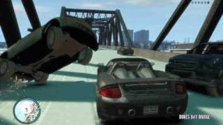 GTA IV Heavy Car Mod - Bridge of Death