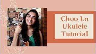 Choo lo Local train Ukulele tutorial with Playalong | Beginner level | Sayali Tank