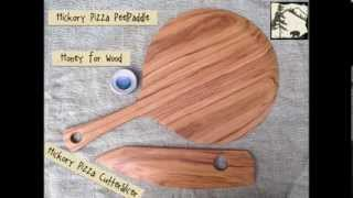 Handmade Wooden Pizza Peels Paddles Cutters Slicers And Servers