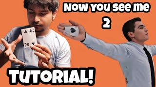 LEARN NOW YOU SEE ME CARD TRICK | WOWBHUMIT | HINDI |