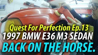 In Episode 13 of the Quest for Perfection on the 1997 BMW E36 M3 Se...