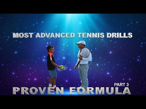 The Most Advanced Tennis Drills - Block Practice by Gabe Jar