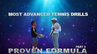 Video Proven Formula Part 3 - Most Advanced Tennis Drills by Gabe Jaramillo download MP3, 3GP, MP4, WEBM, AVI, FLV Agustus 2018