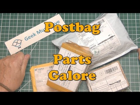 Parts galore, the resupply ship arrived Postbag GMH-057